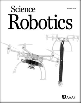The research was published as a cover article of the 15th issue of the journal Science Robotics
