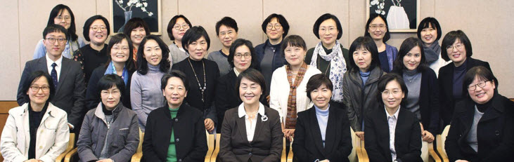 Members of SNU Women Professors' Association