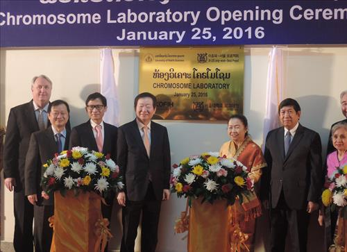 Chromosome Laboratory in the University of Health Sciences Lao PDR